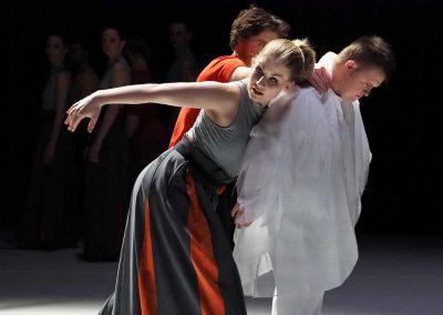 'EYE' choreografie: Christoph Eberl  Muziek: Jaap van Keulen