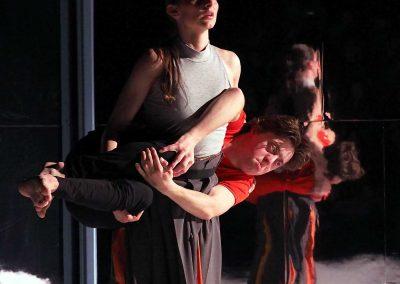 'EYE' choreografie: Cristophe Eberl  Muziek: Jaap van Keulen